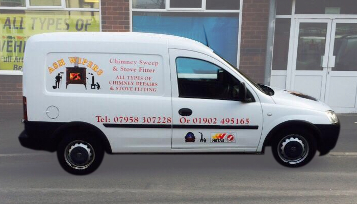 Ash Wipers is a family-run chimney and stove company based in Wolverhampton, offering a fantastic range of services for customers throughout Shropshire, West Midlands, Staffordshire and even further afield.